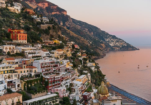 Villa Mon Repos - view of Positano