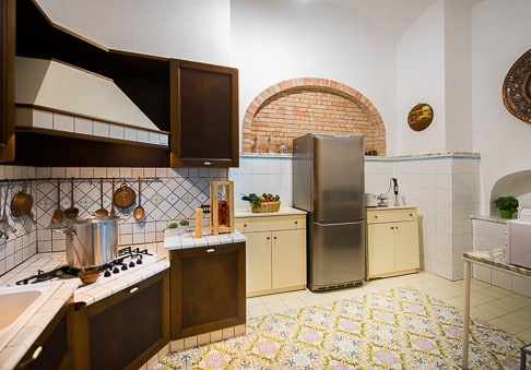 Villa Mon Repos - the kitchen